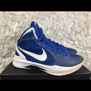 sports shoes 814bf 38ecd Nike zoom Hyperdunk 2001 varsity blue size 9
